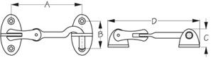 Sea Dog 222080-1 Dimensions