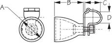 Sea Dog 230107 Dimensions