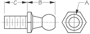 Sea Dog 321586 Dimensions